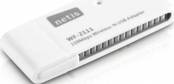Adaptor Wireless Netis WF2111 USB 150Mbps Alb