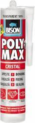 Adeziv universal Bison Poly Max Cristal 300 ml Transparent Siliconi Spume si Solutii tehnice