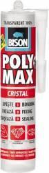 Adeziv universal Bison Poly Max Cristal 300 ml Transparent Siliconi Spume si Solutii tehnice