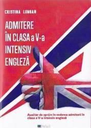 Admitere in clasa a 5-a intensiv engleza - Cristina Lungan