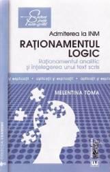Admiterea la INM Rationamentul logic - Melentina Toma