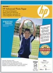 Advanced Glossy Photo Paper HP 25 sheets 210 x 297 mm Hartie