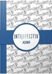 Agenda Introspectiv albastru