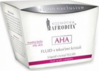 Crema de zi Cosmetica Afrodita Aha Liquid Crystal Fluid 50ml Creme si demachiante