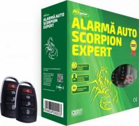 Alarma auto Scorpion Expert Alarme auto si Senzori de parcare