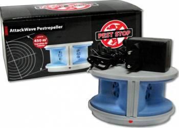 Alarma cu ultrasunete PEST-STOP Attack Wave Pestrepeller PS-927 Combaterea daunatorilor
