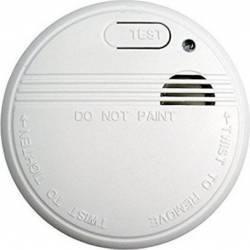 Alarma de fum TO51 DomoClip 85db led indicator baterie montare tavan certificat NF EN14604 Accesorii alarme