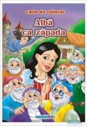 Alba ca Zapada - Carte de colorat ed. 2012 2.5