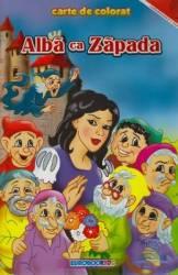 Alba Ca Zapada - Carte De Colorat