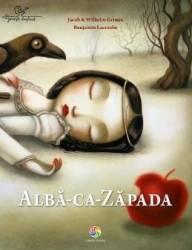 Alba-ca-Zapada - Jacob si Wilhelm Grimm Benjamin Lacombe
