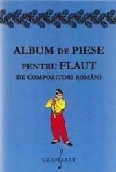 Album de piese pentru flaut de compozitori romani Carti