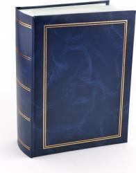 Album foto classic tip carte pentru 300 poze 10x15 culoare albastru Albume Foto