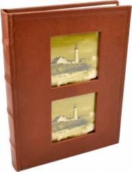 Album foto lux personalizabil 100 foto format 10x15 culoare maro deschis Albume Foto