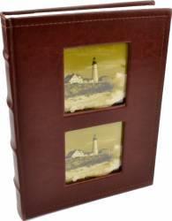 Album foto lux personalizabil 100 foto format 10x15 culoare maro inchis Albume Foto