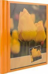 Album poze orange flower 10 file autoadezive 20 pagini foto 23x28 cm spirala portocaliu Albume Foto