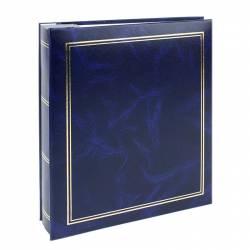 Album Classic 200 fotografii 10x15cm slip-in cutie piele ecologica albastru Albume Foto