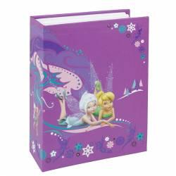 Album foto Disney Fairies 100 poze 10x15 cm buzunare slip-in mov Albume Foto