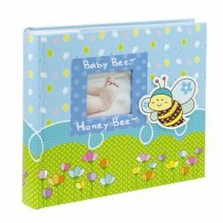 Album foto Honey Bee format 10x15 capacitate 200 poze albastru Albume Foto