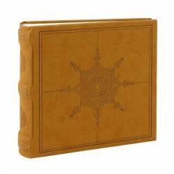 Album foto Mandalas Art 200 poze 10x15 cm notes slip-in velur crem Albume Foto