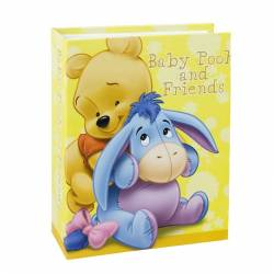 Album Winnie and Donkey 100 fotografii 10x15 cm buzunare slip-in galben Albume Foto