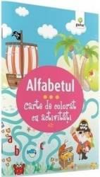Alfabetul - Carte de colorat cu activitati 3 ani+