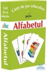 Alfabetul - Carti de joc educative Carti