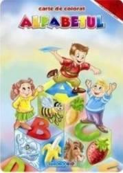 Alfabetul- Carte de colorat A4