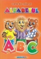 Alfabetul- Carte de colorat A5