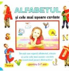 Alfabetul si cele mai usoare cuvinte