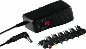 Alimentator Hama Universal in comutatie Electronic 1.0 1000 mA 12 W Acumulatori Incarcatoare Laptop