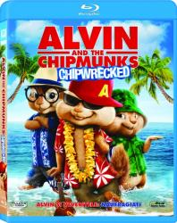 Alvin and The Chipmunks 3 Chip-Wrecked BluRay 2011 Filme BluRay