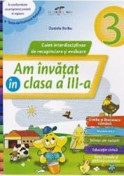 Am invatat in cls 3 caiet - Daniela Barbu title=Am invatat in cls 3 caiet - Daniela Barbu