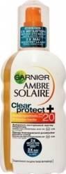 Protectie solara pentru corp Garnier Ambre Solaire Spray Clear Protect IP20