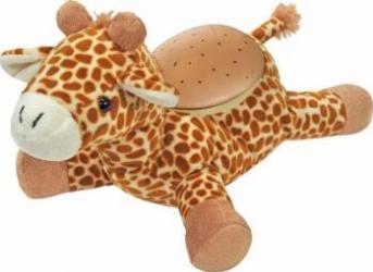 Amic pentru imbratisari Girafa Pufoasa Jucarii de Plus