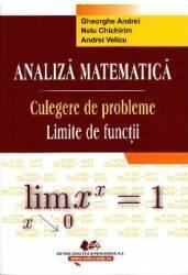 Analiza Matematica. Culegere De Probleme. Limite De Functii  Gheorghe Andrei Nelu Chichirim