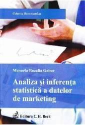 Analiza si inferenta statistica a datelor de marketing - Manuela Rozalia Gabor Carti