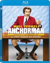 Anchorman the Legend of Ron Burgundy BluRay 2004 Filme BluRay