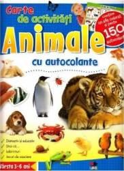 Animale - Carte de activitati cu autocolante