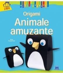 Animale amuzante - Origami - Micii Creatori