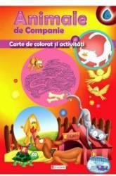 Animale de companie - Carte de colorat si activitati