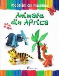 Animale din Africa - Modelam din plastilina