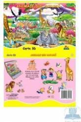 Animale Din Savana - Carte 3d