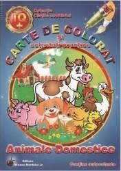 Animale Domestice - Carte de colorat si activitati practice