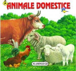 Animale domestice - pliant cartonat - Nicolae Saftoiu