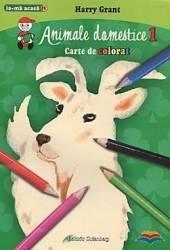 Animale domestice 1 - Carte de colorat - Harry Grant
