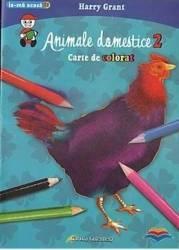 Animale domestice 2 - Carte de colorat - Harry Grant