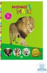 Animale mari - Secretele animalelor - Contine 35 de autocolante