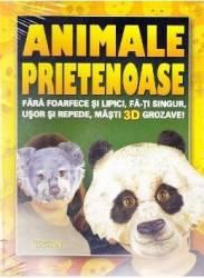 Animale prietenoase. Fa-ti singur masti 3D grozave