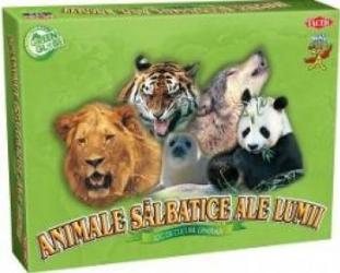 Animale salbatice ale lumii - Joc de cultura generala - Tactic 01745