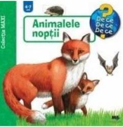 Animalele Noptii 4-7 Ani Carti
